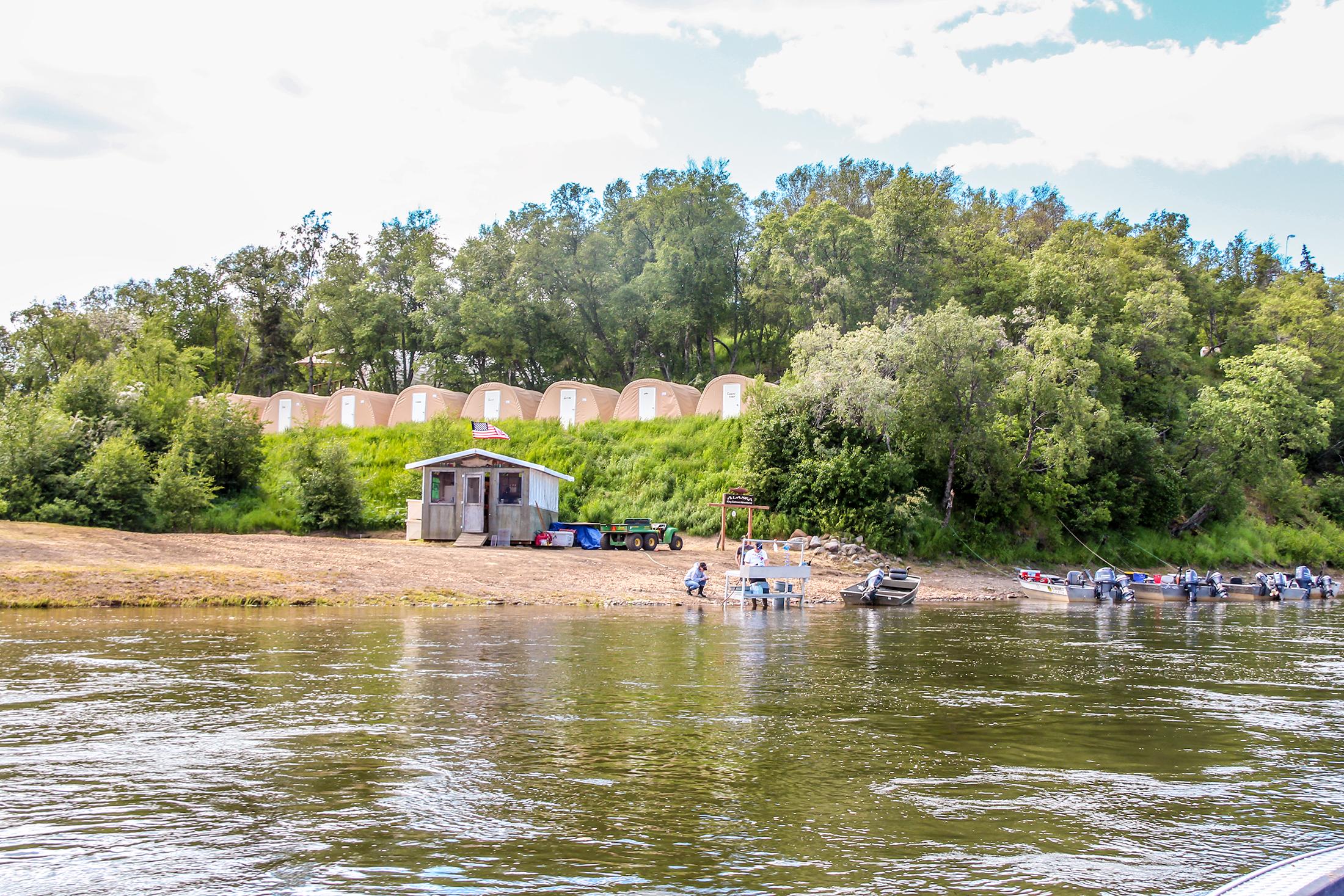 Nushagak river fishing aksa has the best salmon lodge for Best fishing in alaska